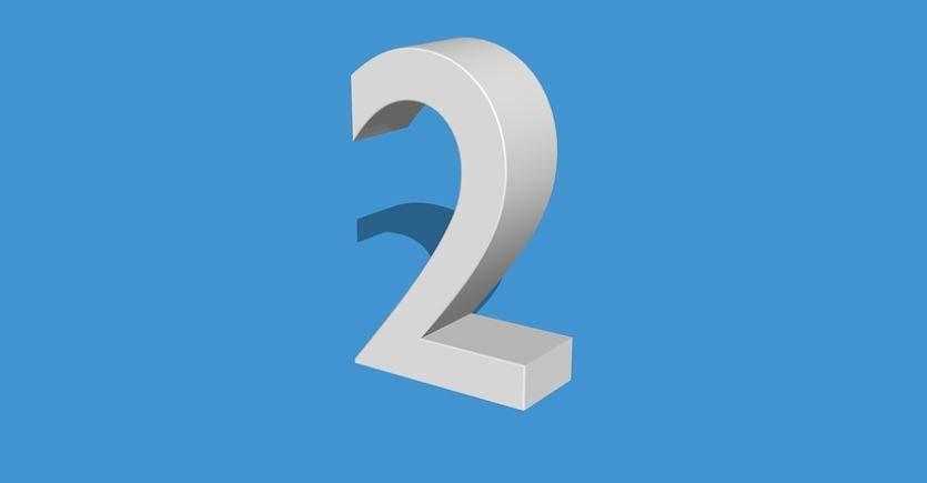 Numerologia: Il significato del numero 2