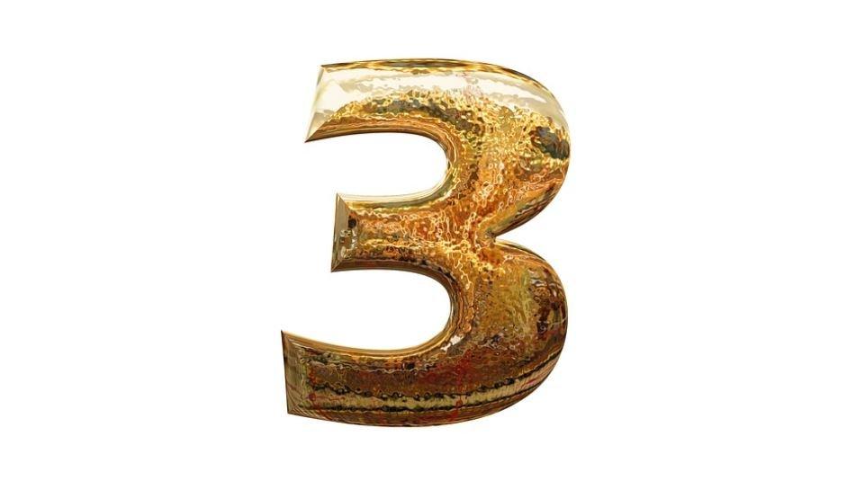 Numerologia: Il significato del numero 3