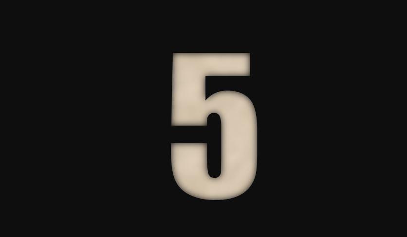 Numerologia: Il significato del numero 5