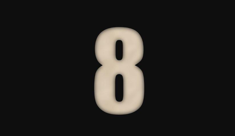 Numerologia: Il significato del numero 8