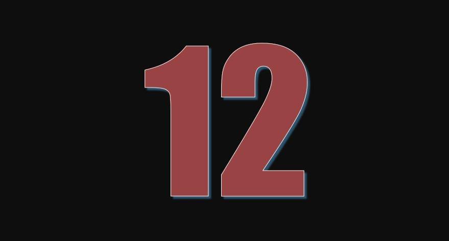 Numerologia: Il significato del numero 12