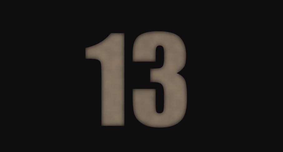 Numerologia: Il significato del numero 13