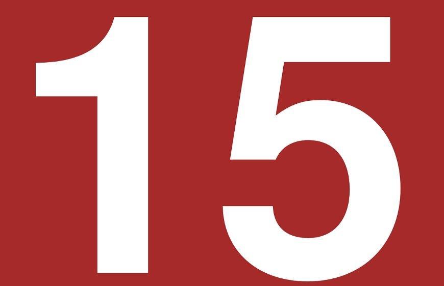 Numerologia: Il significato del numero 15