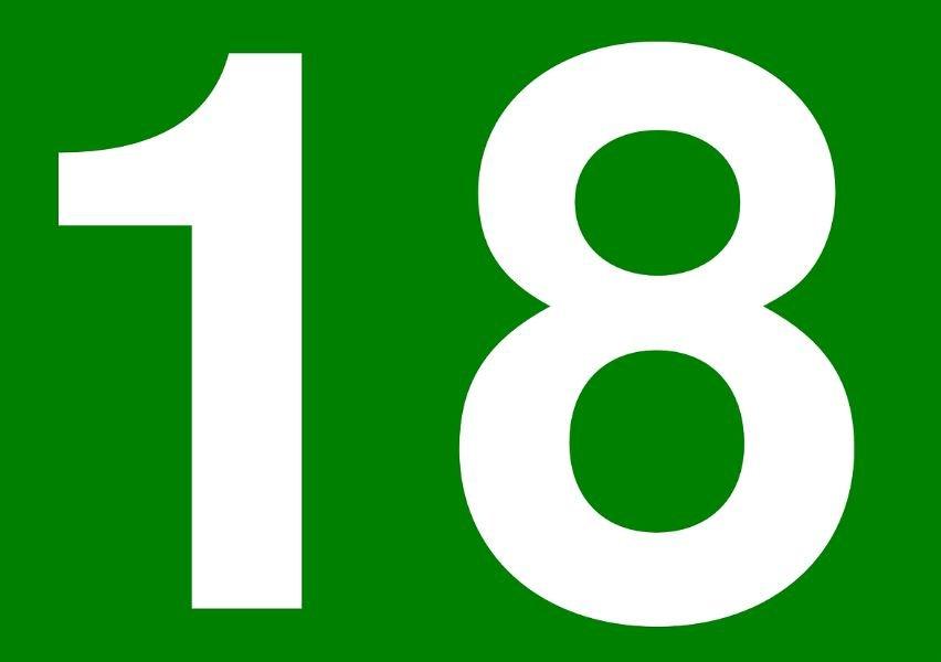 Numerologia: Il significato del numero 18