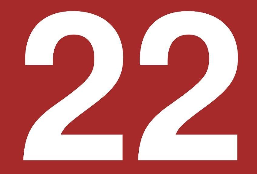 Numerologia: Il significato del numero 22