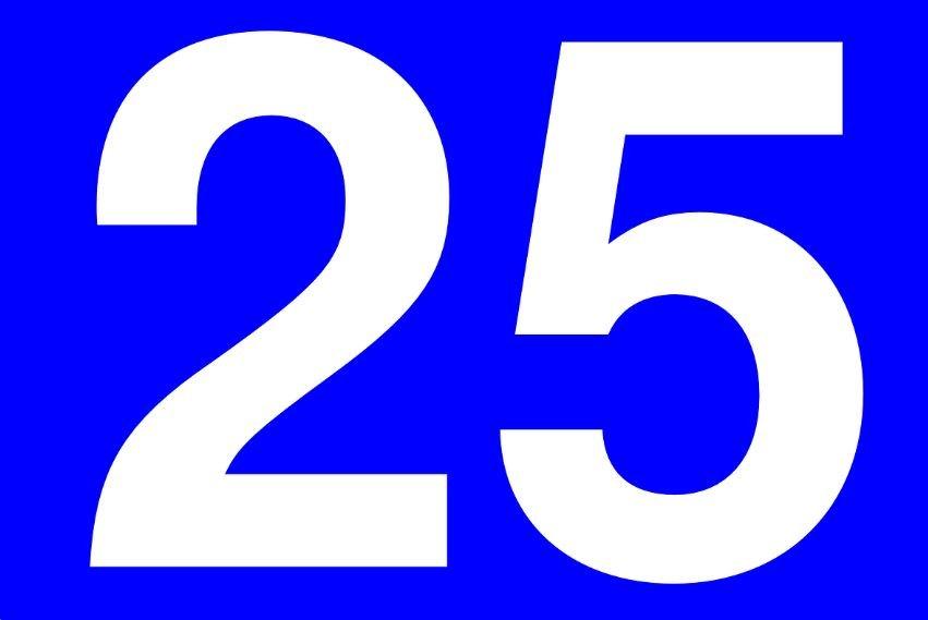 Numerologia: Il significato del numero 25