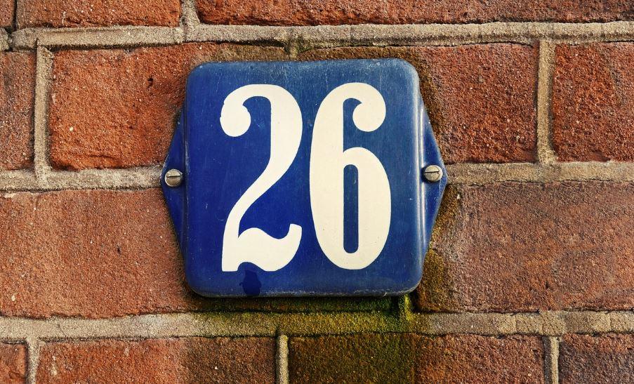 Il significato del numero 26