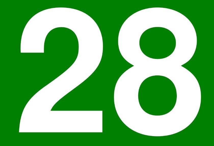 Numerologia: Il significato del numero 28