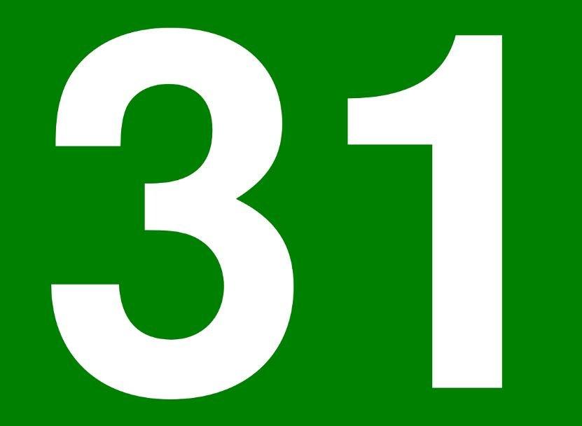 Numerologia: Il significato del numero 31