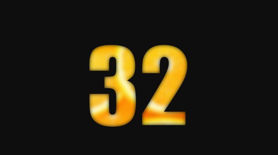 Numerologia: Il significato del numero 32
