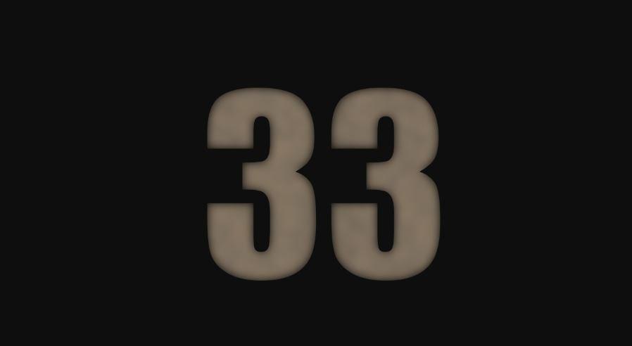 Numerologia: Il significato del numero 33