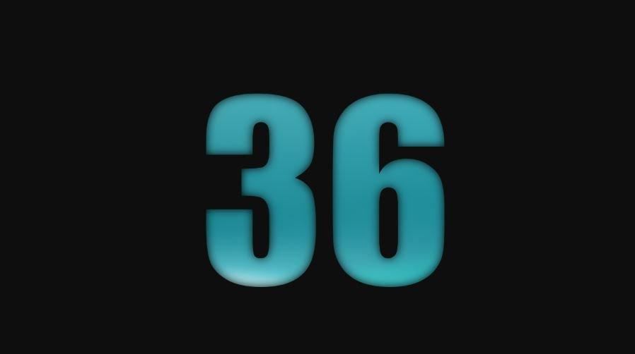 Numerologia: Il significato del numero 36