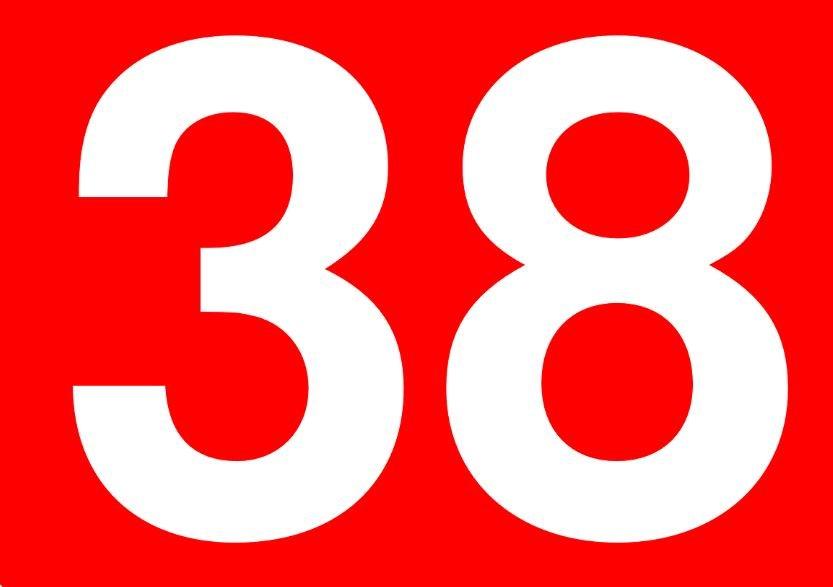 Numerologia: Il significato del numero 38