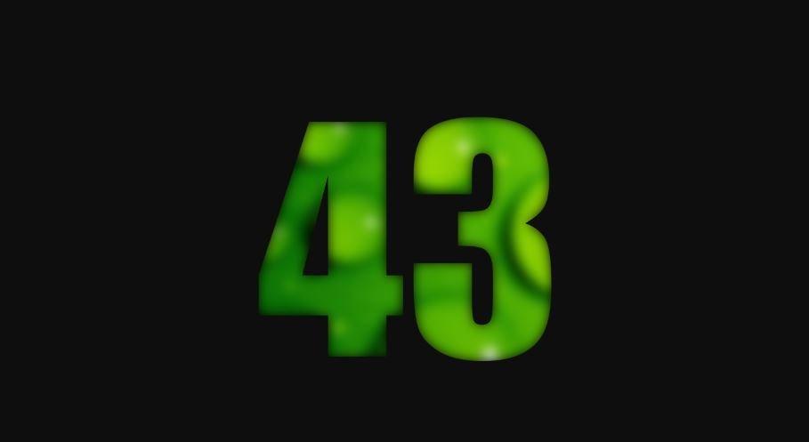 Il significato del numero 43