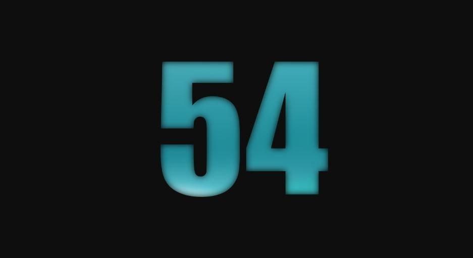Il significato del numero 54