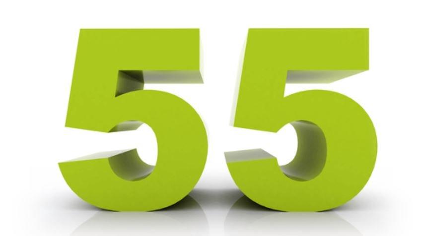Il significato del numero 55
