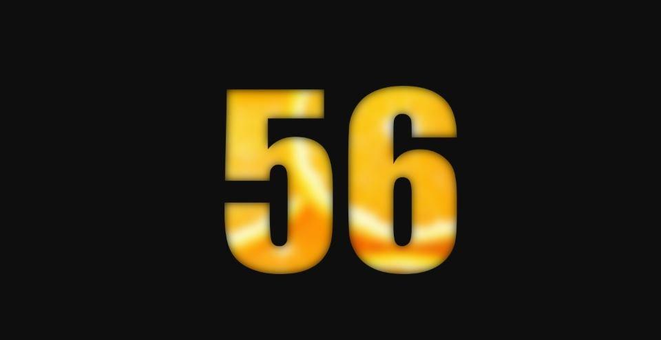 Il significato del numero 56