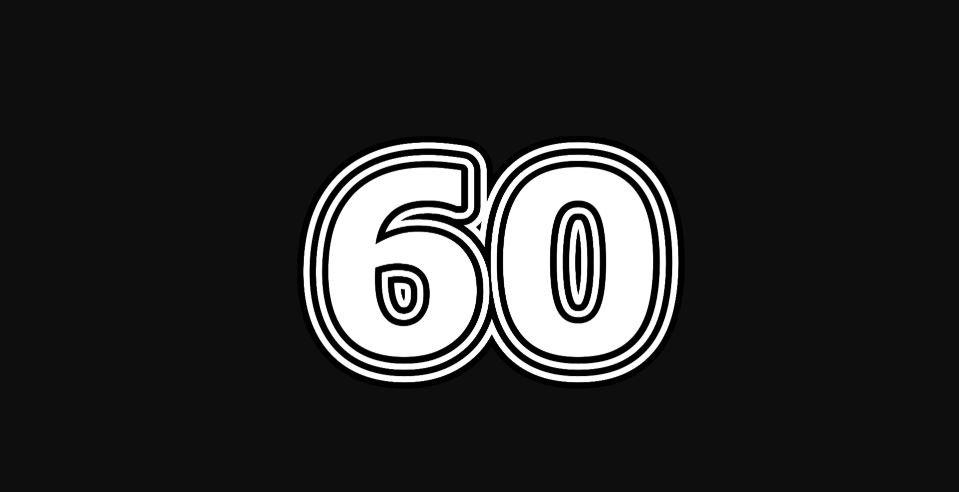 Il significato del numero 60