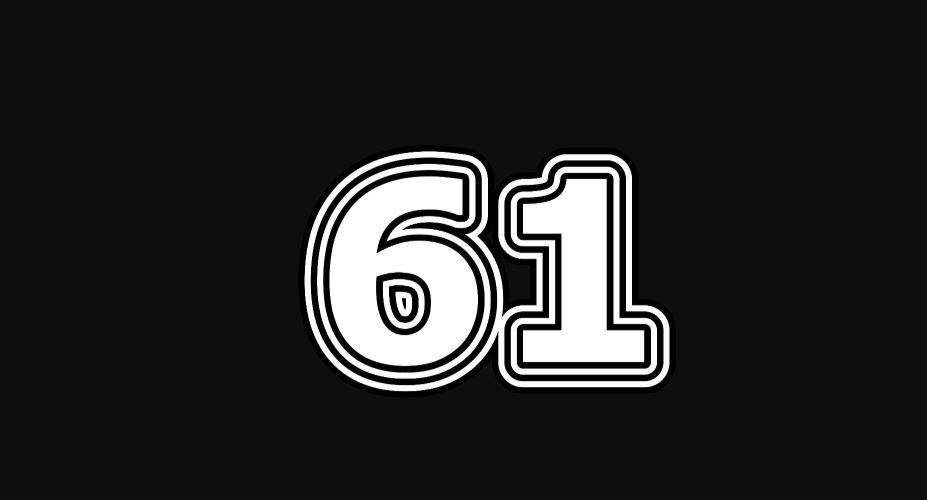Il significato del numero 61