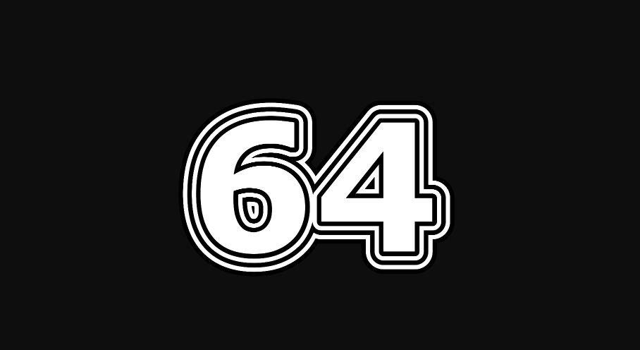 Il significato del numero 64