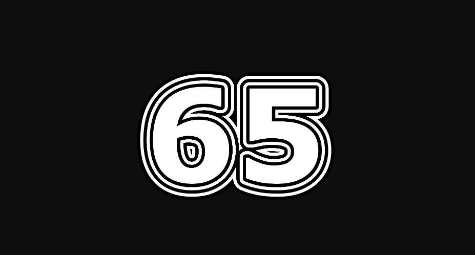 Il significato del numero 65