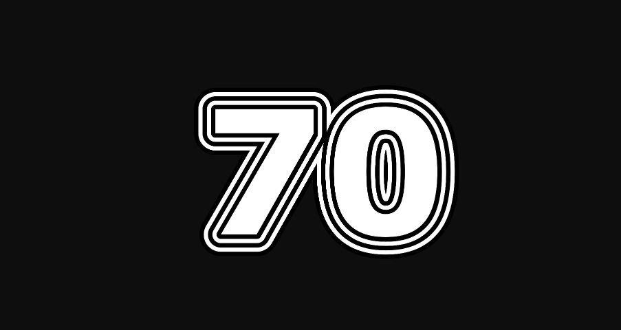 Il significato del numero 70