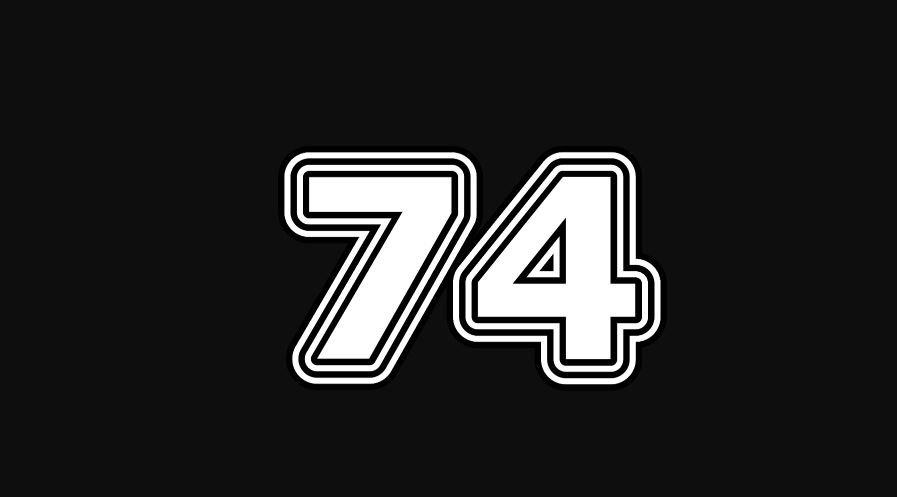 Il significato del numero 74