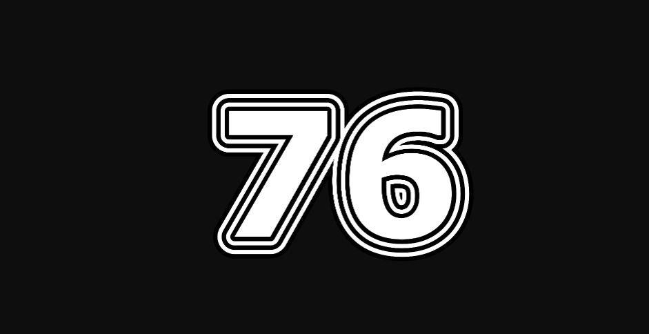 Il significato del numero 76