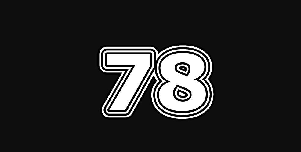 Il significato del numero 78