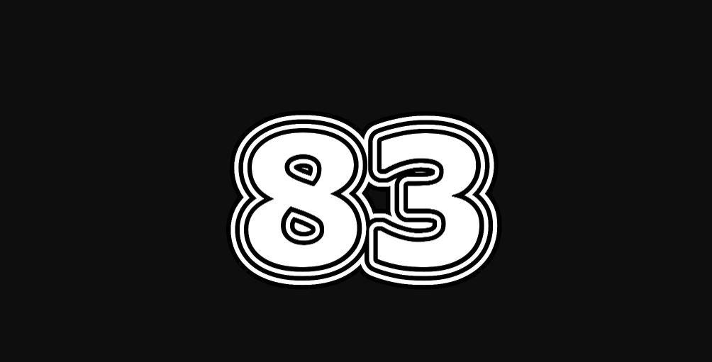 Il significato del numero 83