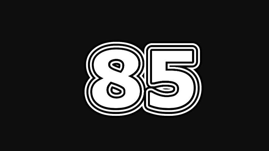 Il significato del numero 85