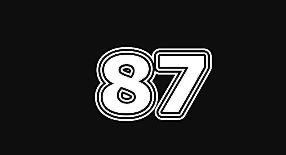 Il significato del numero 87
