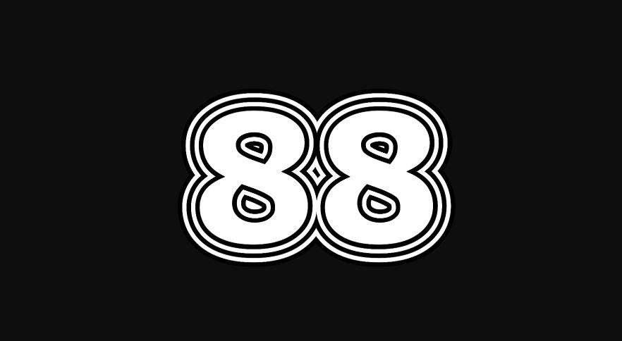 Il significato del numero 88