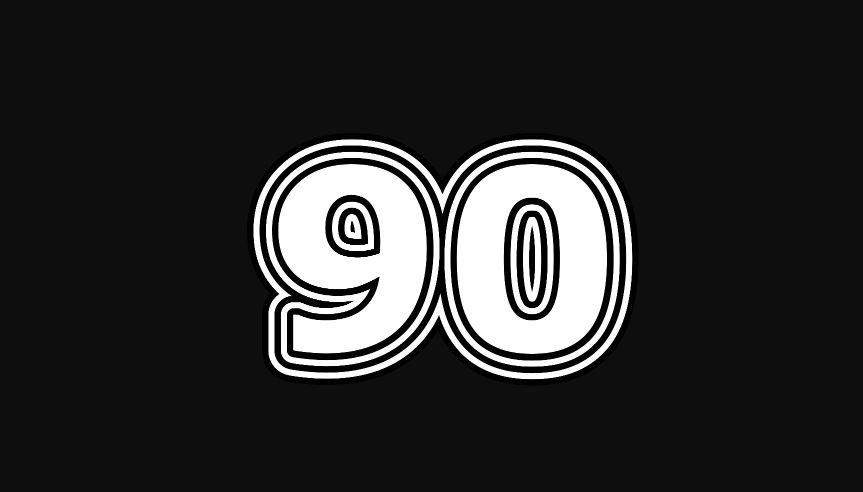 Il significato del numero 90