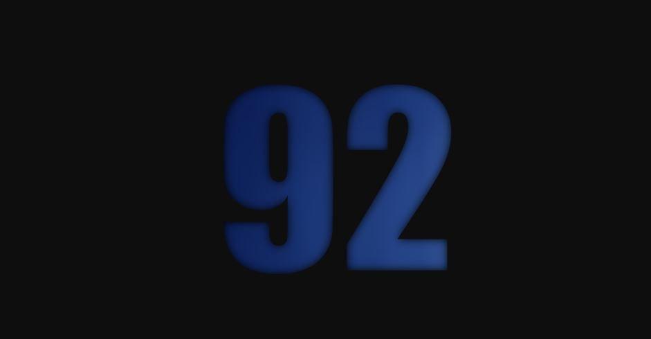 Il significato del numero 92
