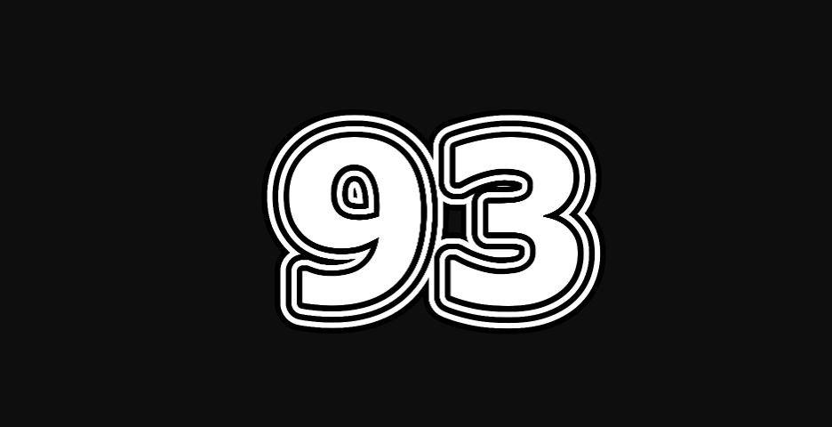 Il significato del numero 93