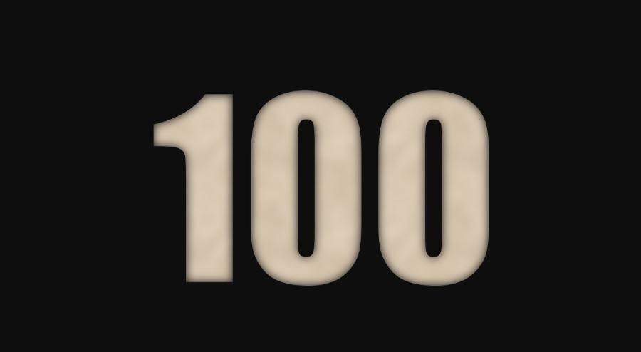 Il significato del numero 100