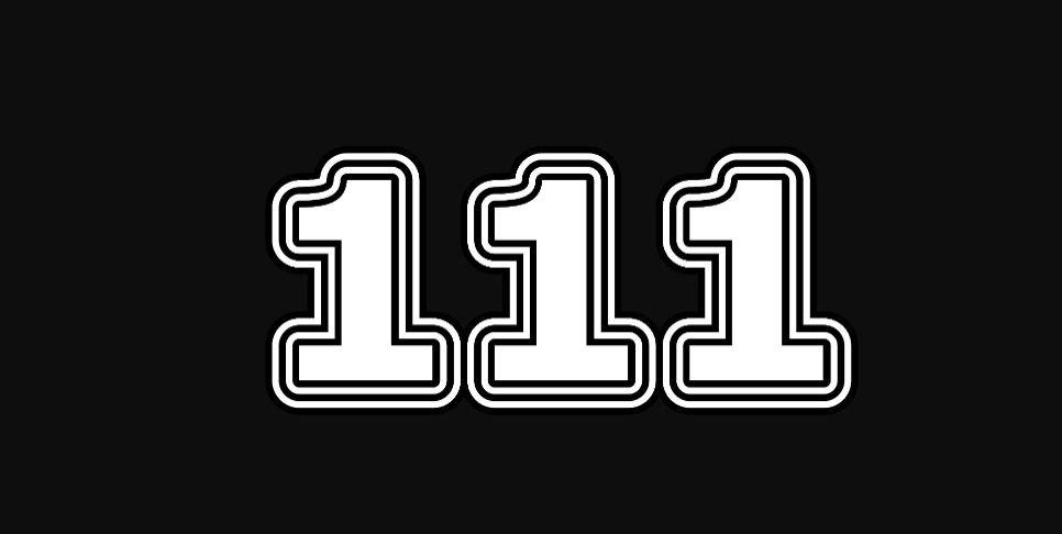 Il significato del numero 111