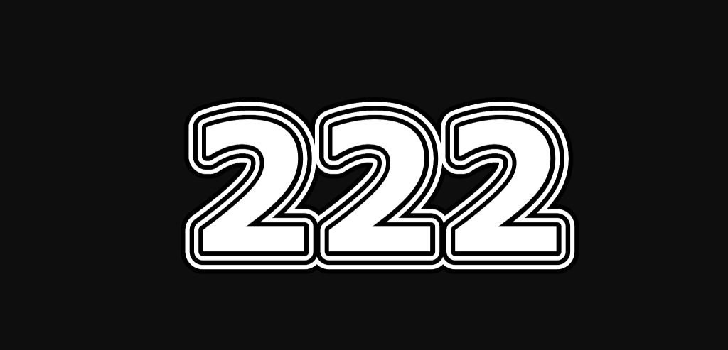 Numerologia: Il significato del numero 222