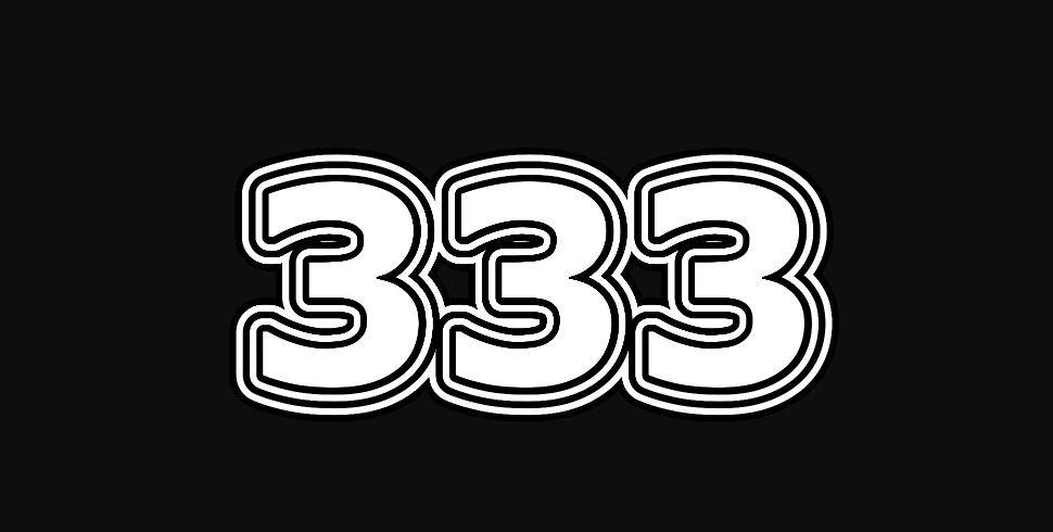 Il significato del numero 333