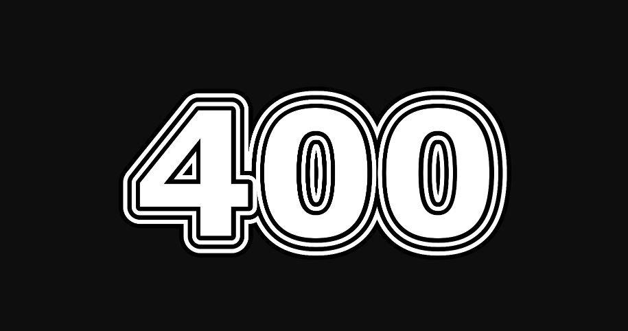 Il significato del numero 400