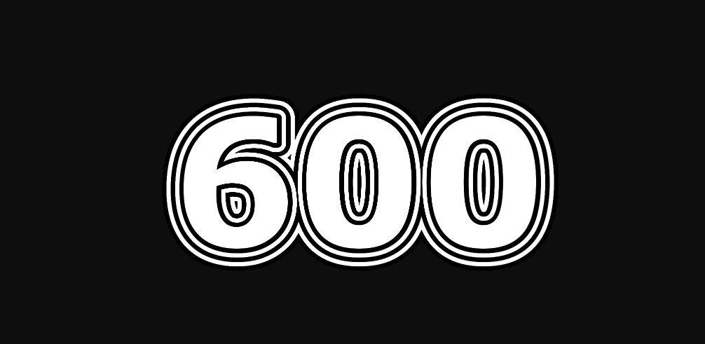 Numerologia: Il significato del numero 600