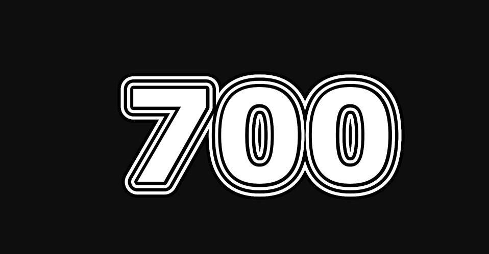Il significato del numero 700