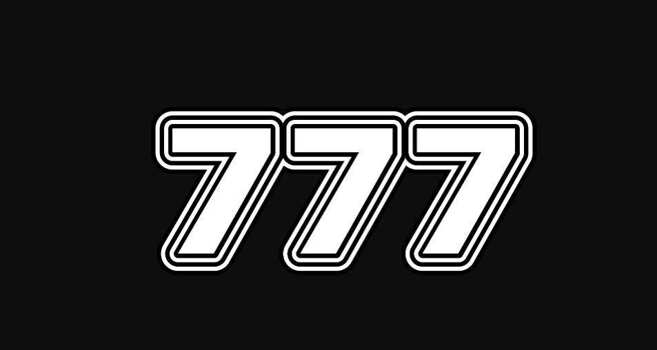 Il significato del numero 777