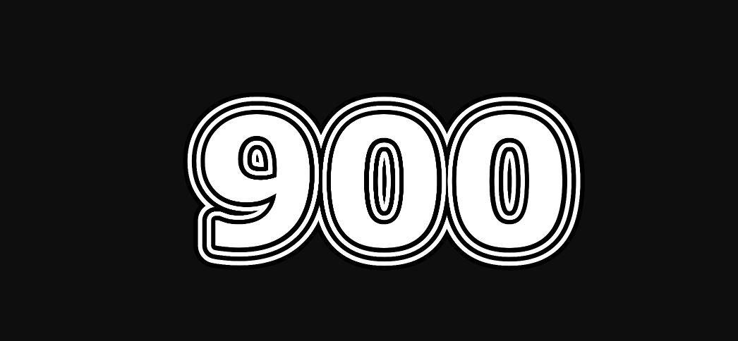 Il significato del numero 900