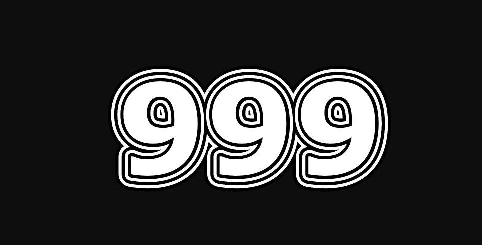 Il significato del numero 999