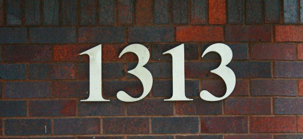Il significato del numero 1313