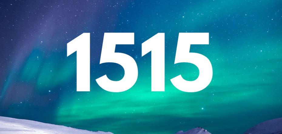 Il significato del numero 1515