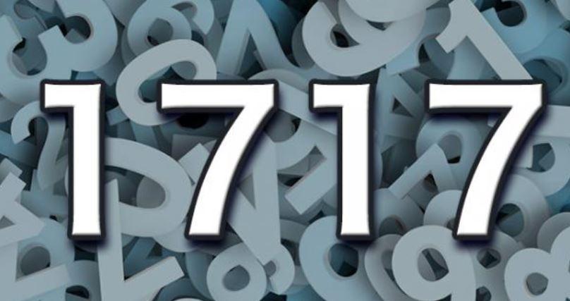 Il significato del numero 1717