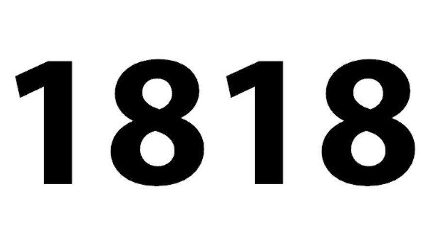 Il significato del numero 1818